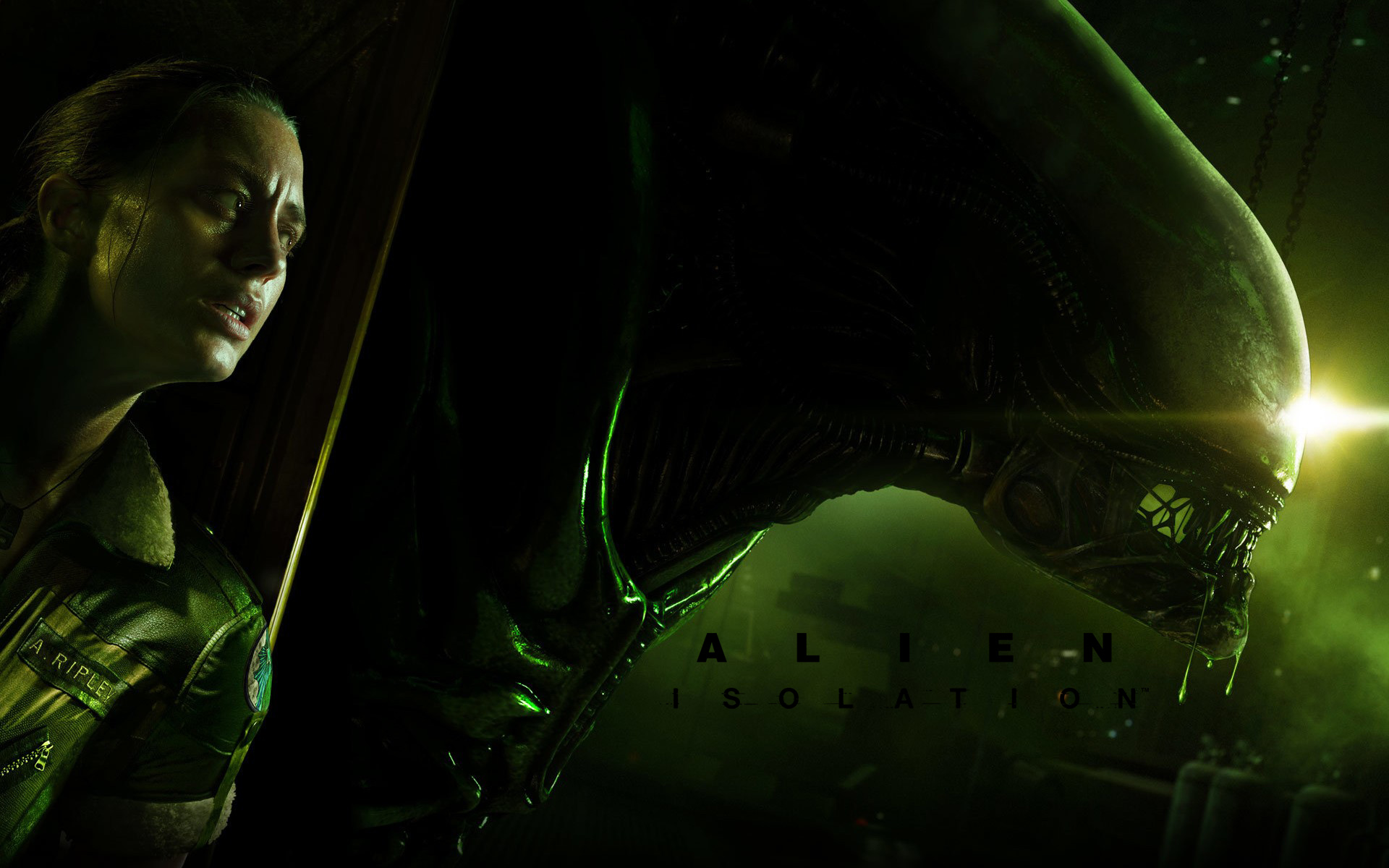 Арт к игре Alien: Isolation