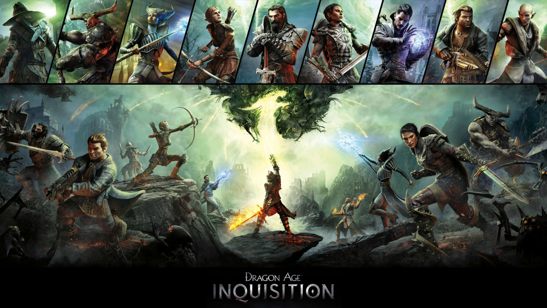 Арт к игре Dragon Age: Inquisition