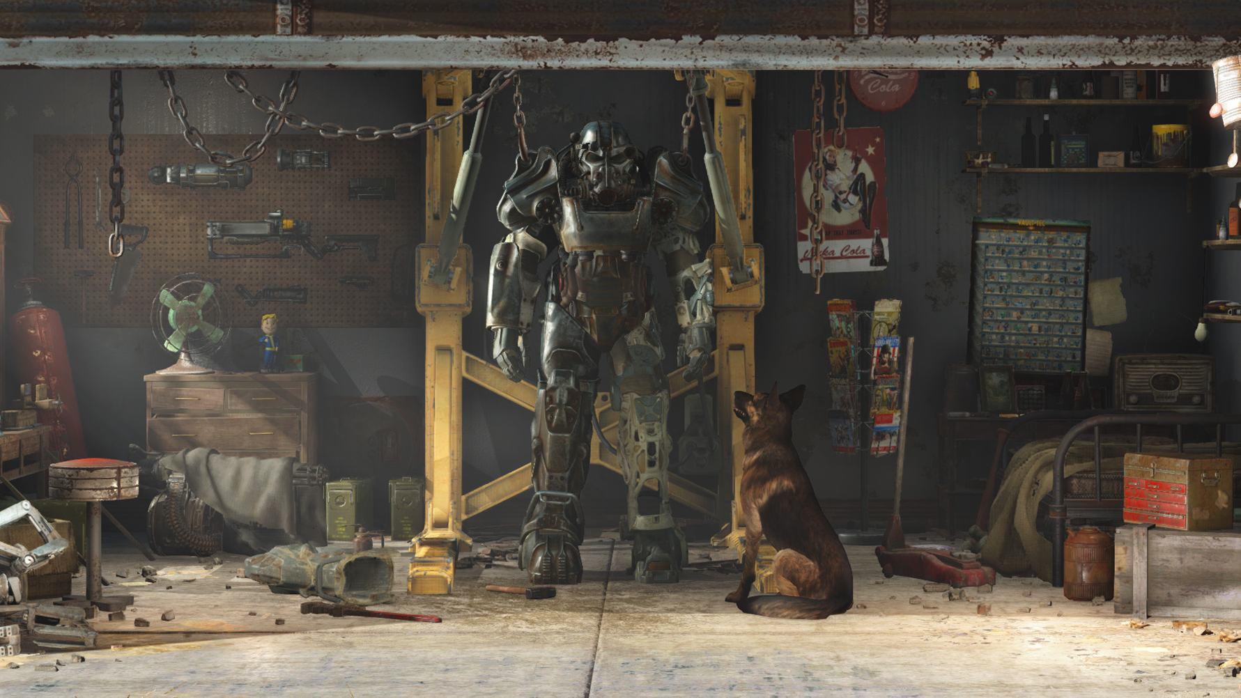 Арт к игре Fallout 4