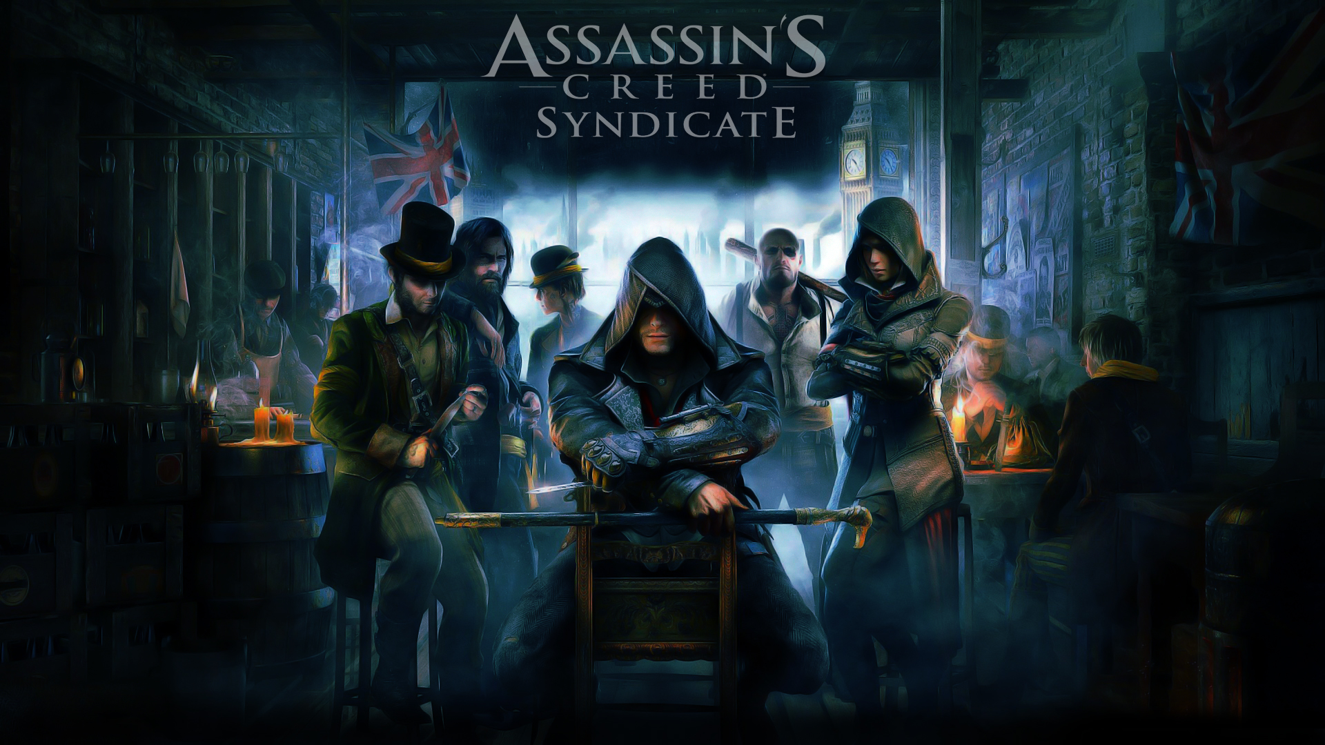 Арт к игре Assassin's Creed: Syndicate