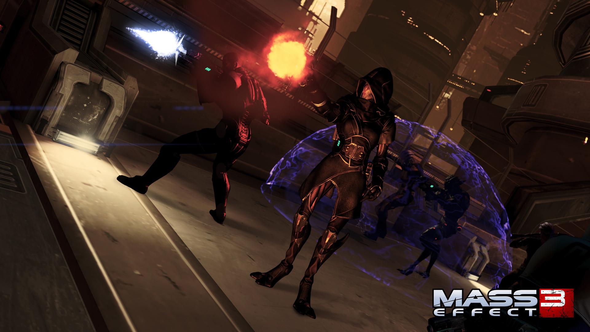 Арт к игре Mass Effect 3: Omega