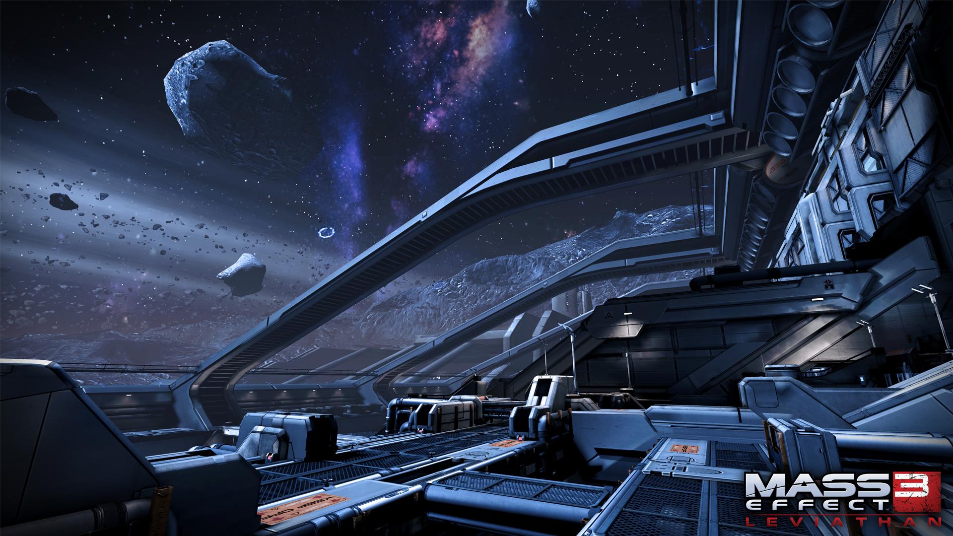 Арт к игре Mass Effect 3: Leviathan