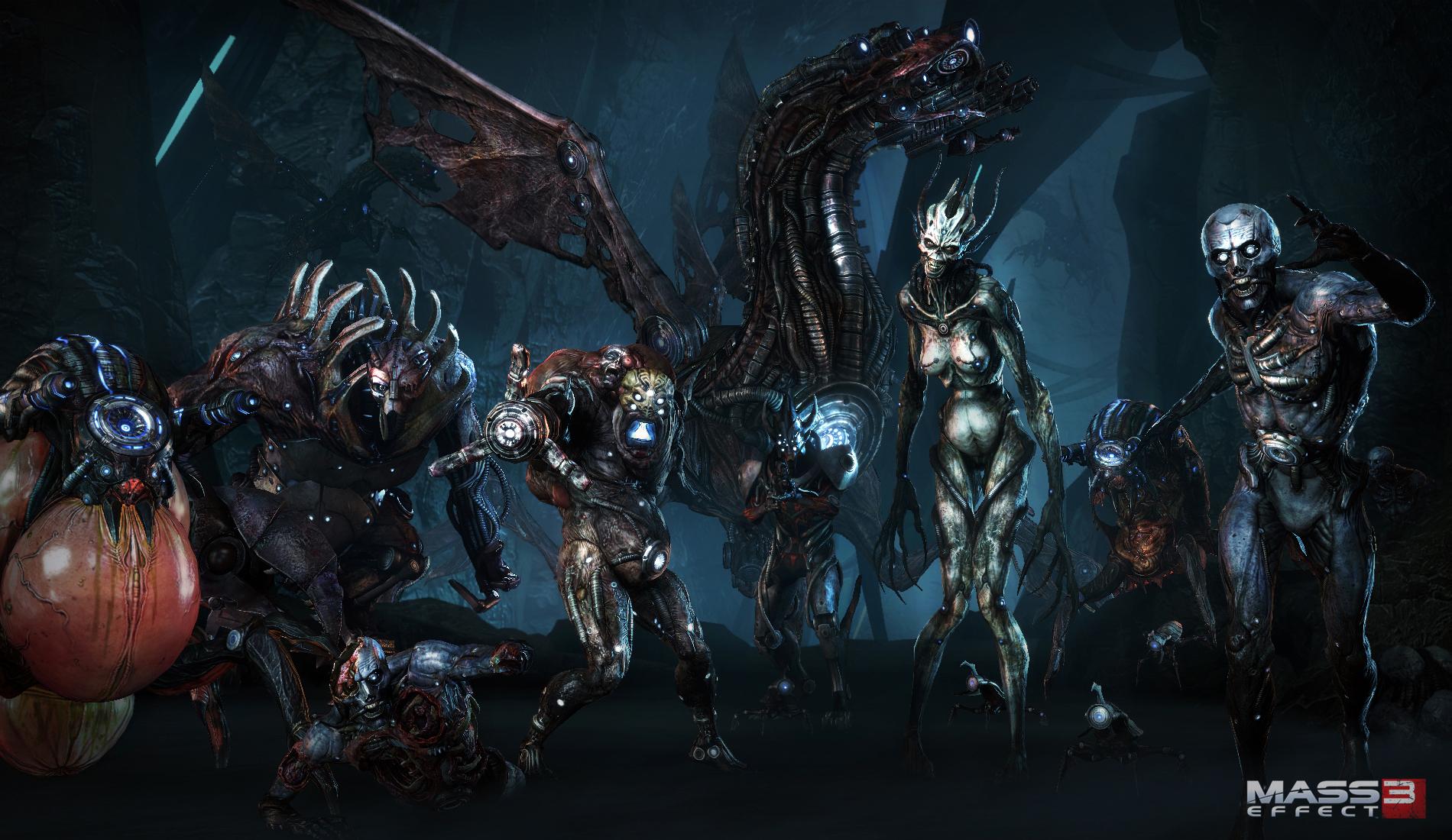 Арт к игре Mass Effect 3
