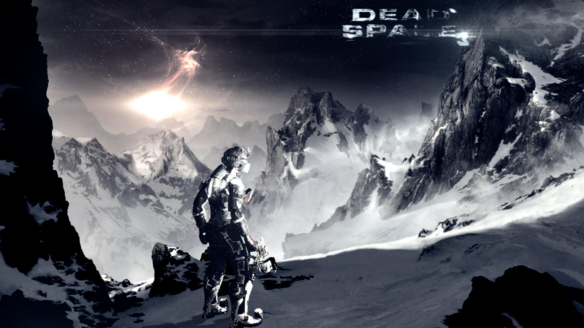 Арт к игре Dead Space 3
