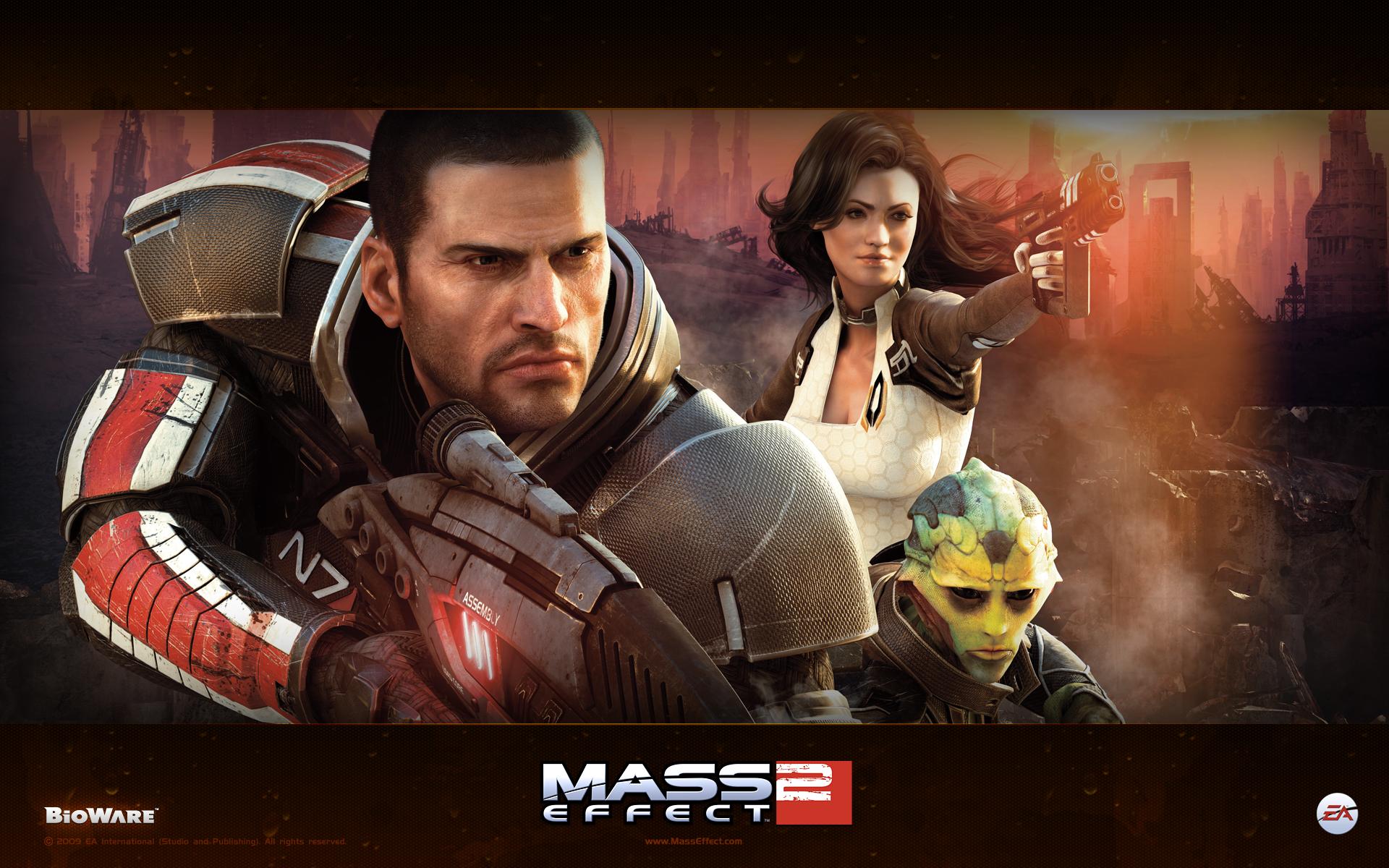 Арт к игре Mass Effect 2