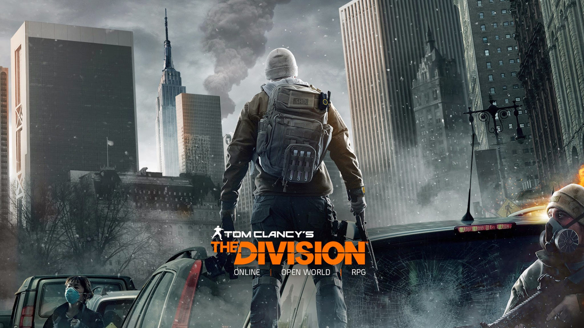 Арт к игре Tom Clancy's The Division