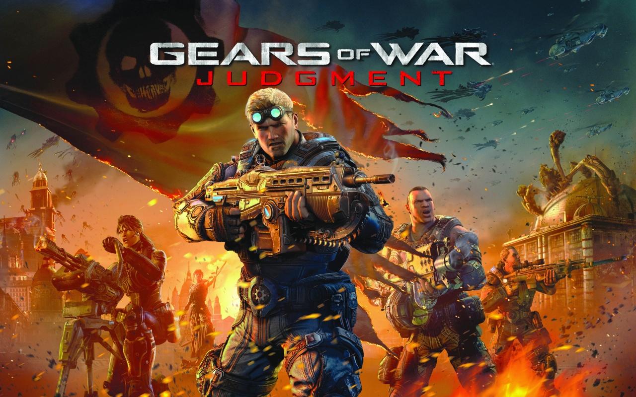 Арт к игре Gears of War: Judgment
