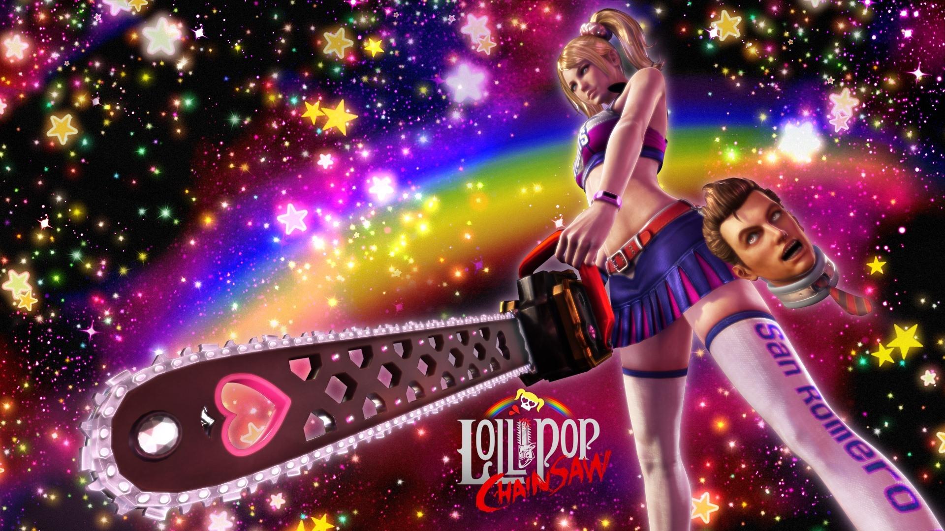 Арт к игре Lollipop Chainsaw