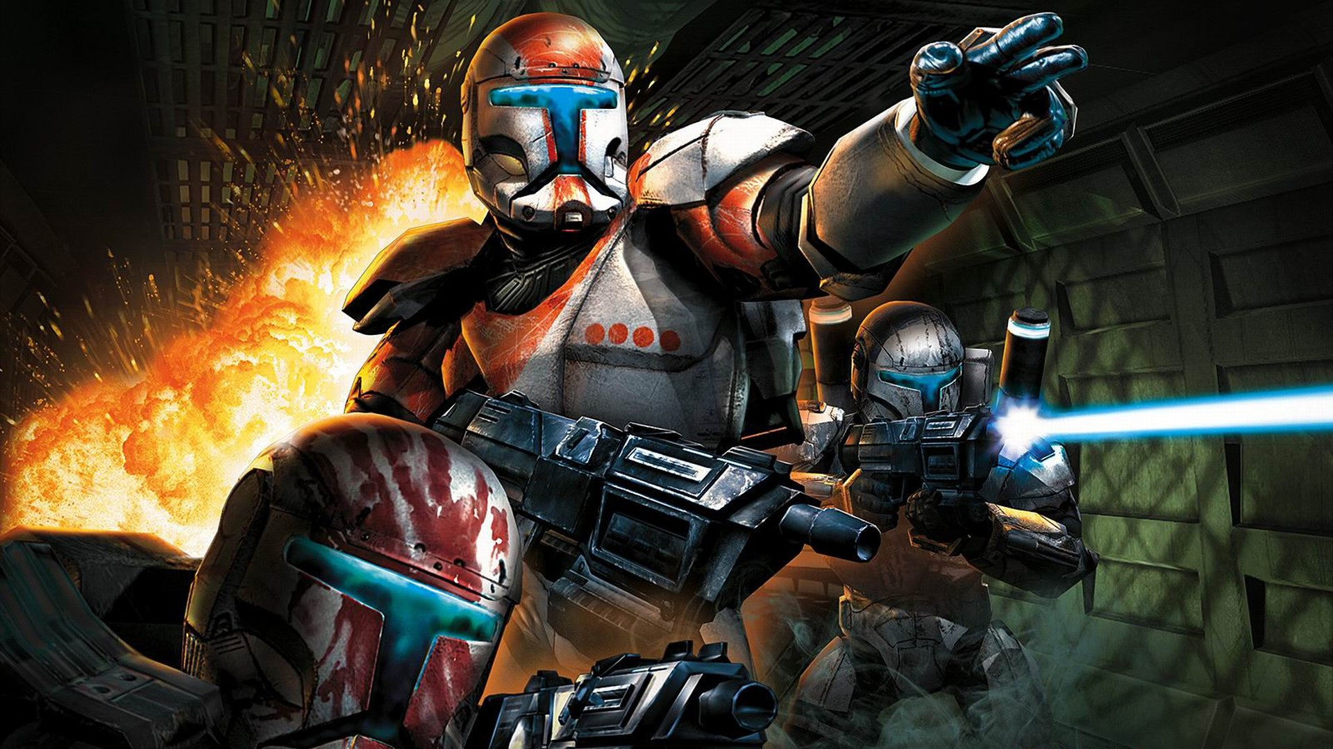Арт к игре Star Wars: Republic Commando