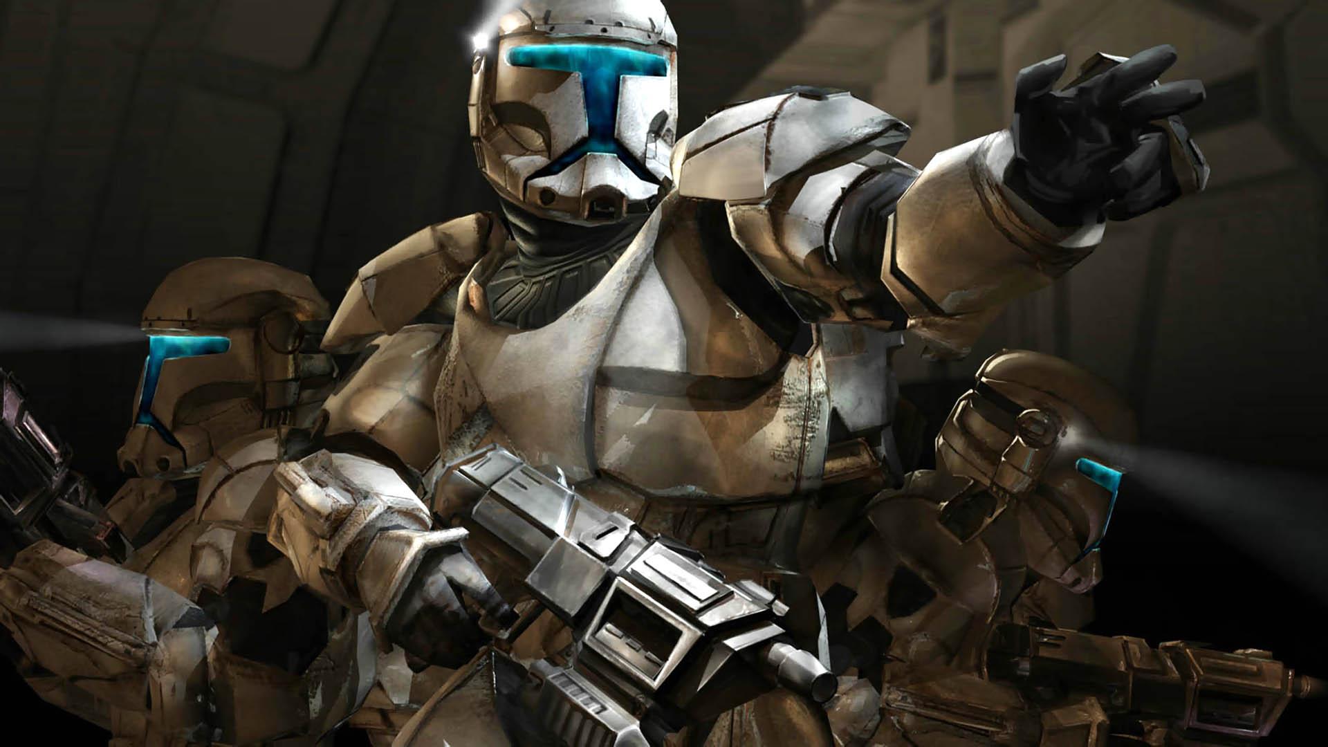 Арт к игре Star Wars: Republic Commando