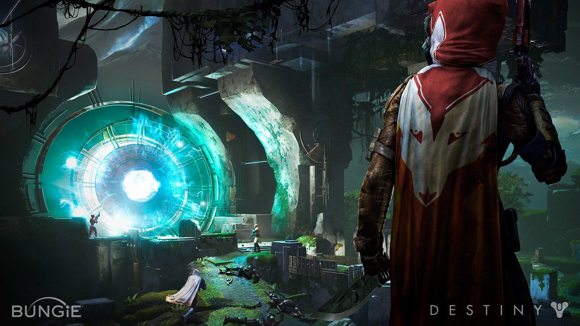 Арт к игре Destiny