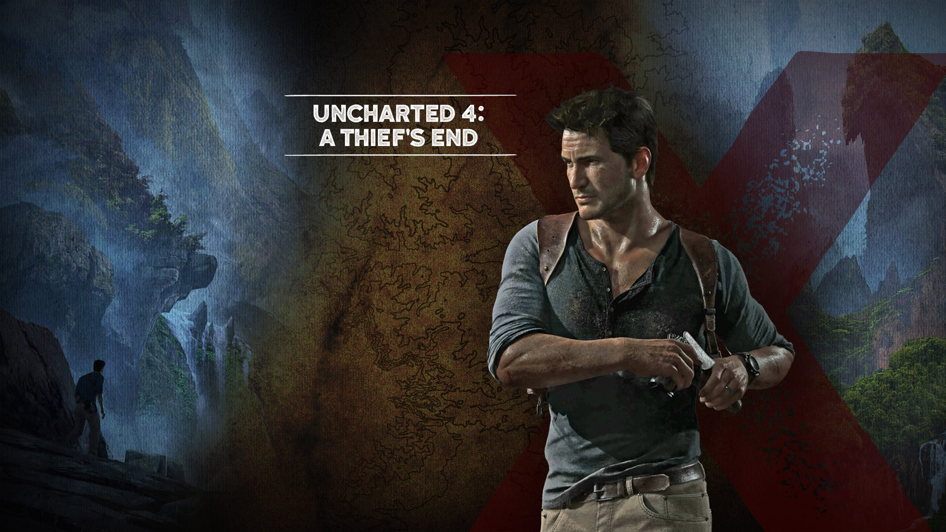 Арт к игре Uncharted 4: A Thief's End