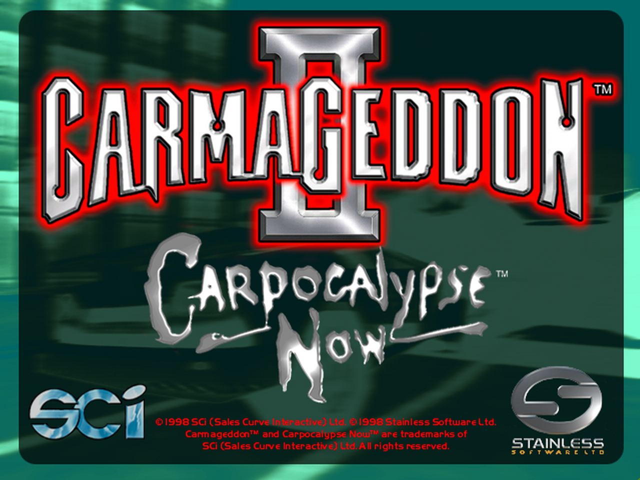 Арт к игре Carmageddon 2: Carpocalypse Now