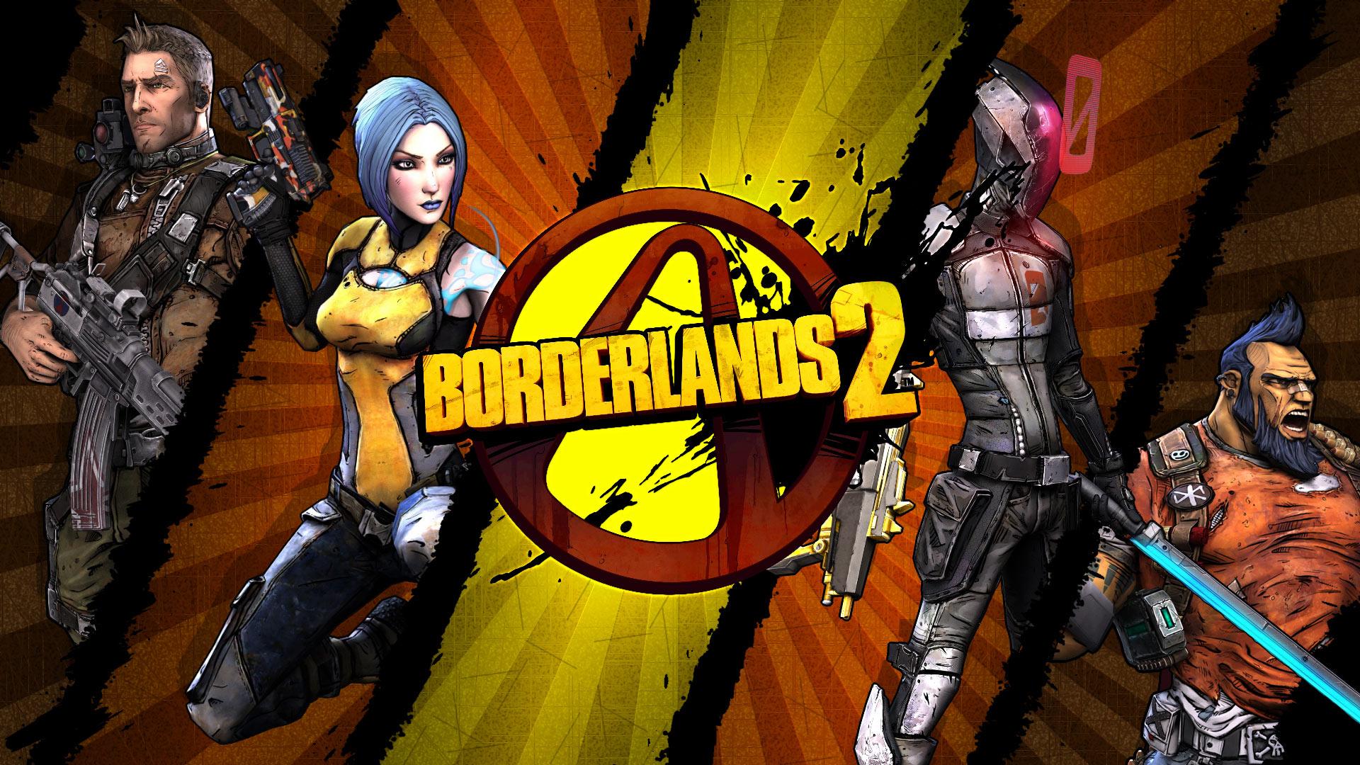 Арт к игре Borderlands 2