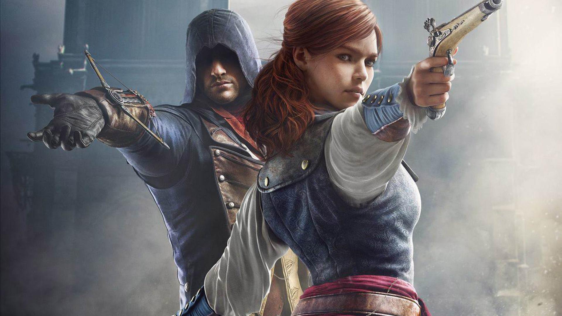 Арт к игре Assassin's Creed: Unity
