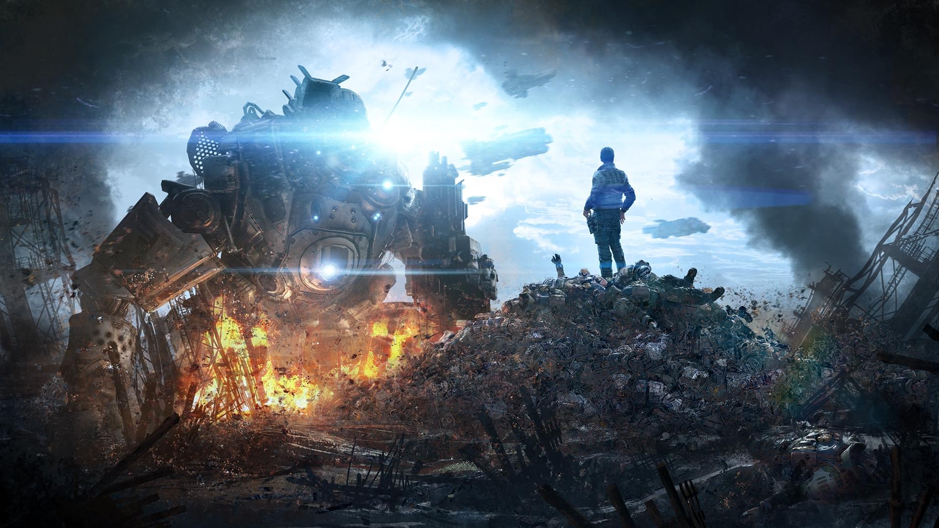 Арт к игре Titanfall