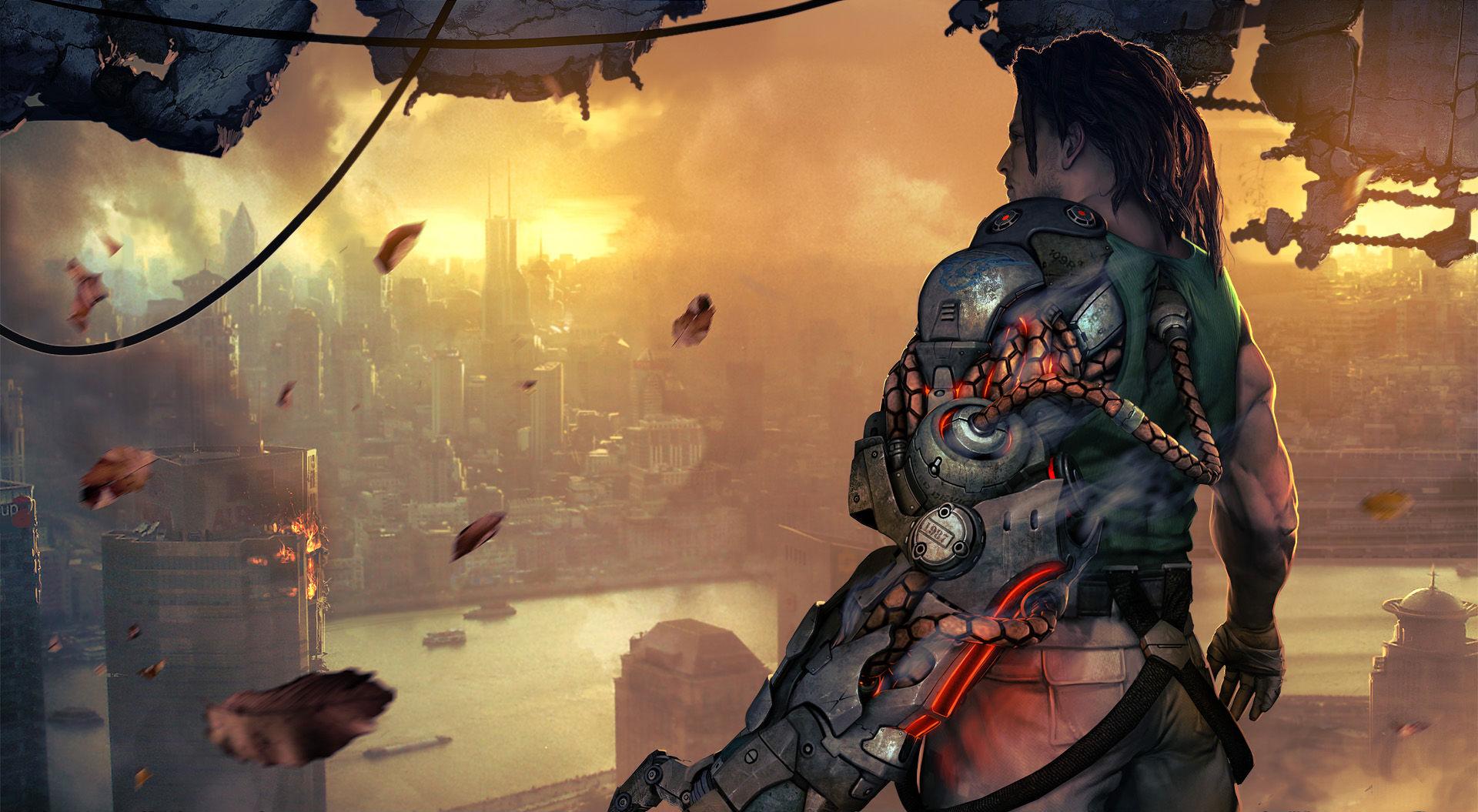 Арт к игре Bionic Commando 2009