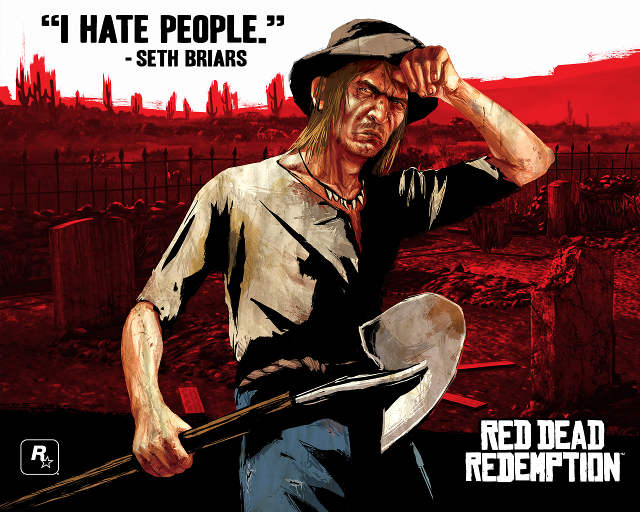 Арт к игре Red Dead Redemption