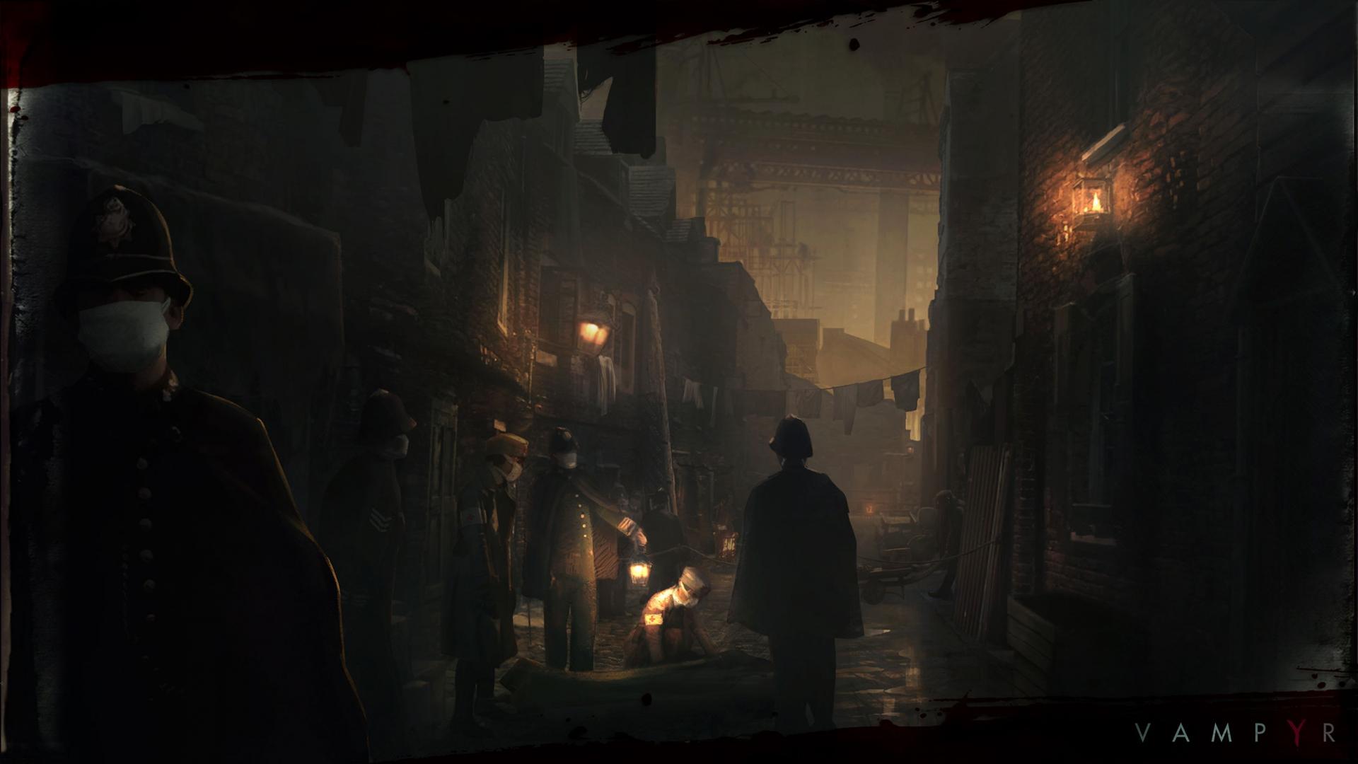 Арт к игре Vampyr