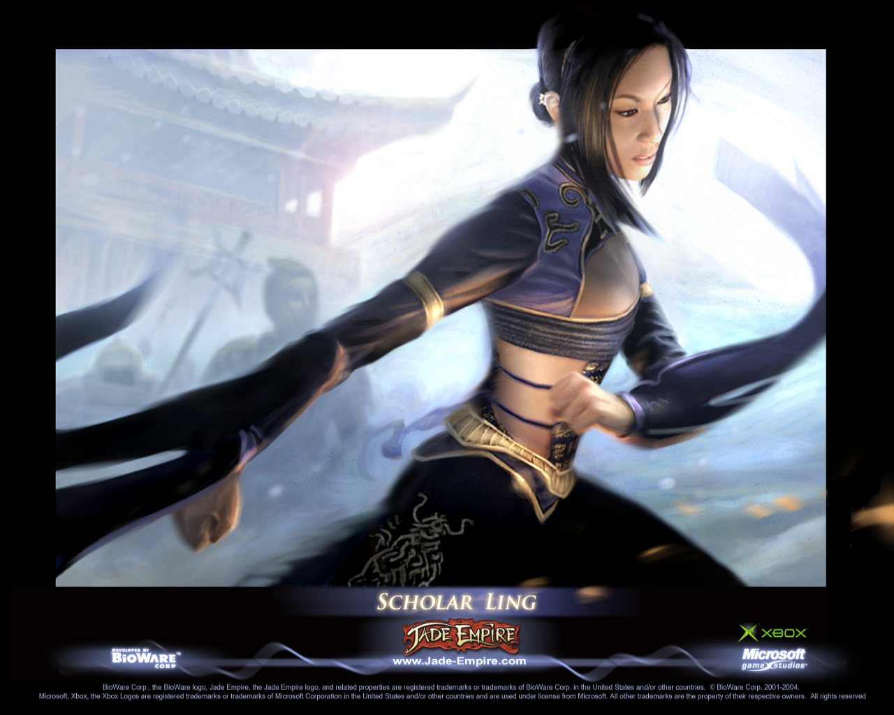 Арт к игре Jade Empire