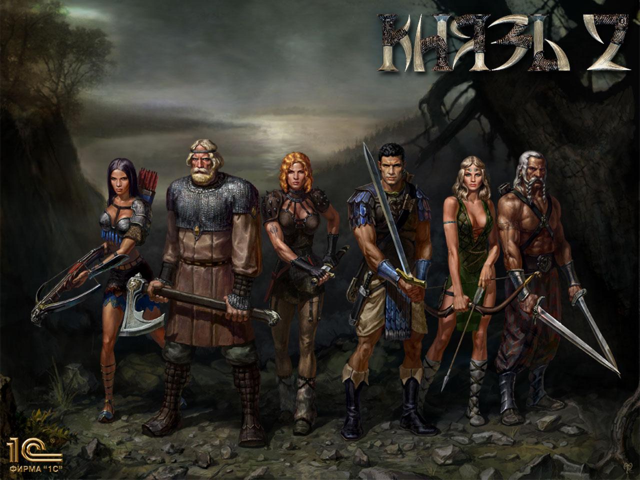 Арт к игре Konung 2: Blood of Titans