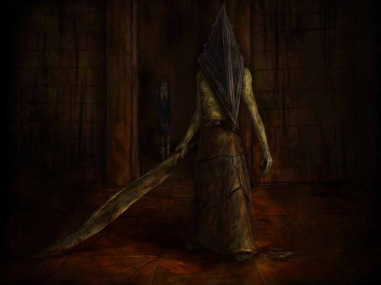 Арт к игре Silent Hill 2