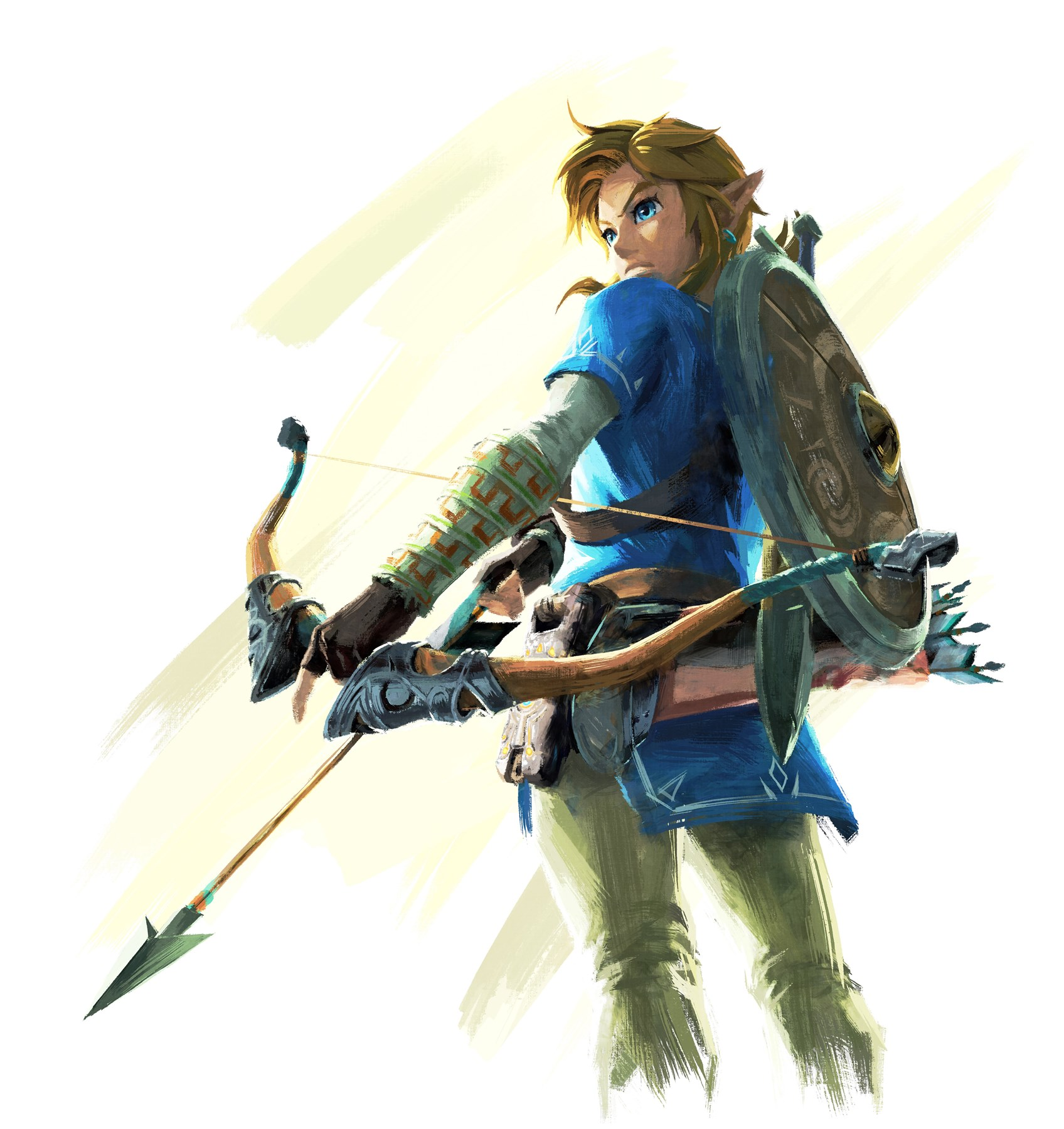 Арт к игре The Legend of Zelda Breath of the Wild