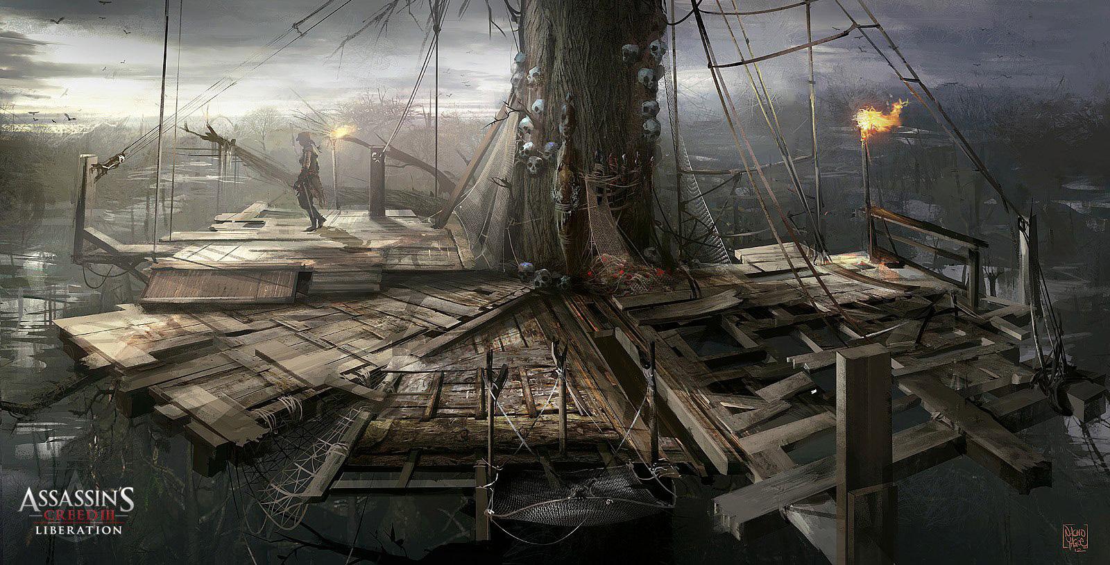 Арт к игре Assassin's Creed: Liberation HD