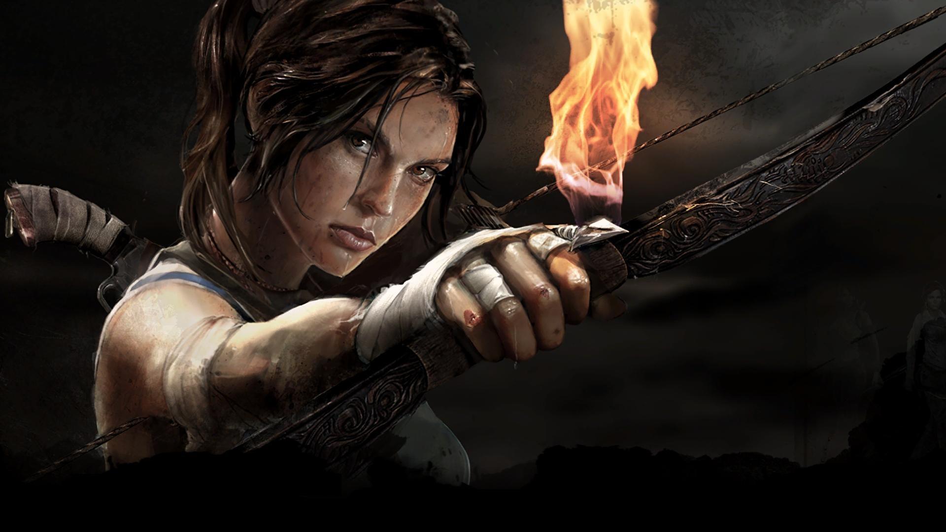 Арт к игре Tomb Raider 2013