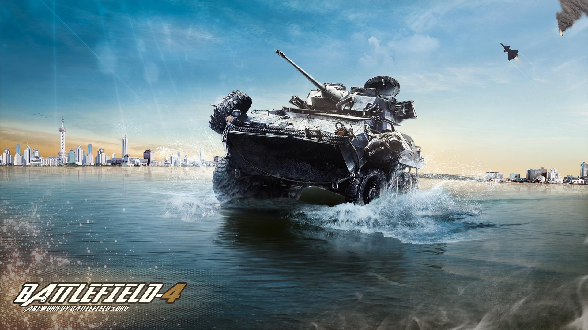 Арт к игре Battlefield 4