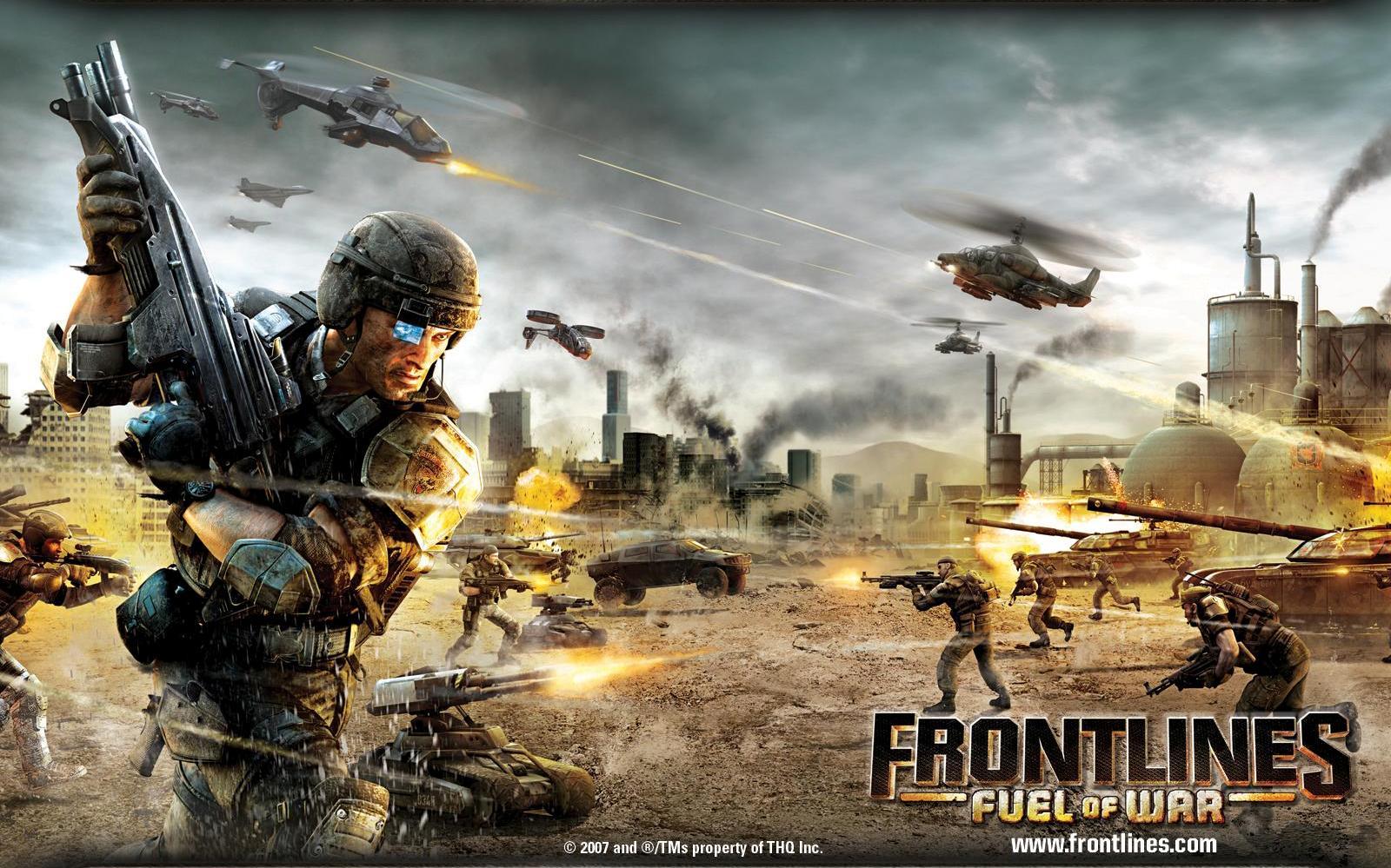 Арт к игре Frontlines: Fuel of War