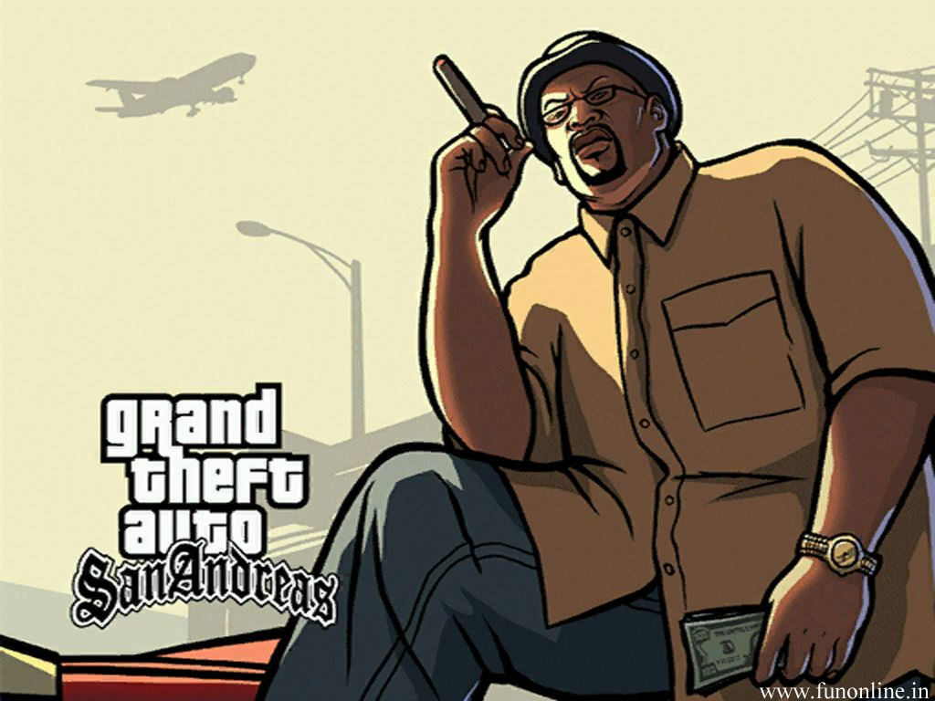 Арт к игре Grand Theft Auto: San Andreas