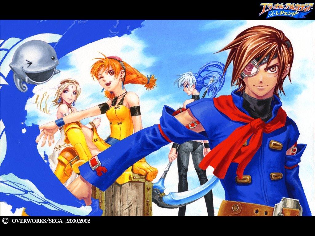 Арт к игре Skies of Arcadia