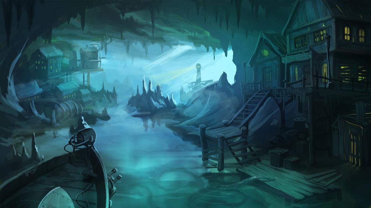 Арт к игре Sunless Sea