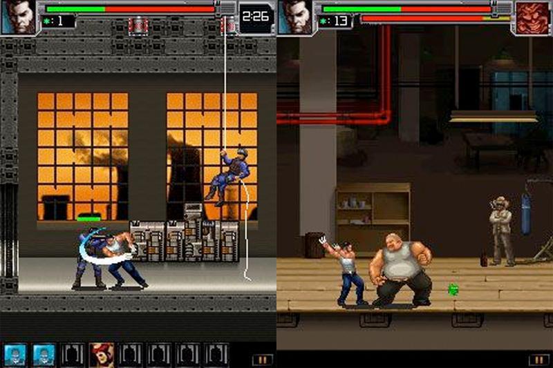 Арт к игре X-Men Origins: Wolverine - The Mobile Game