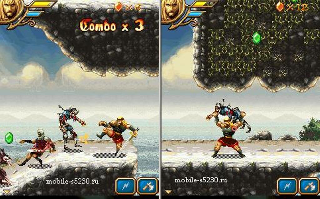Арт к игре Beowulf: The Mobile Game