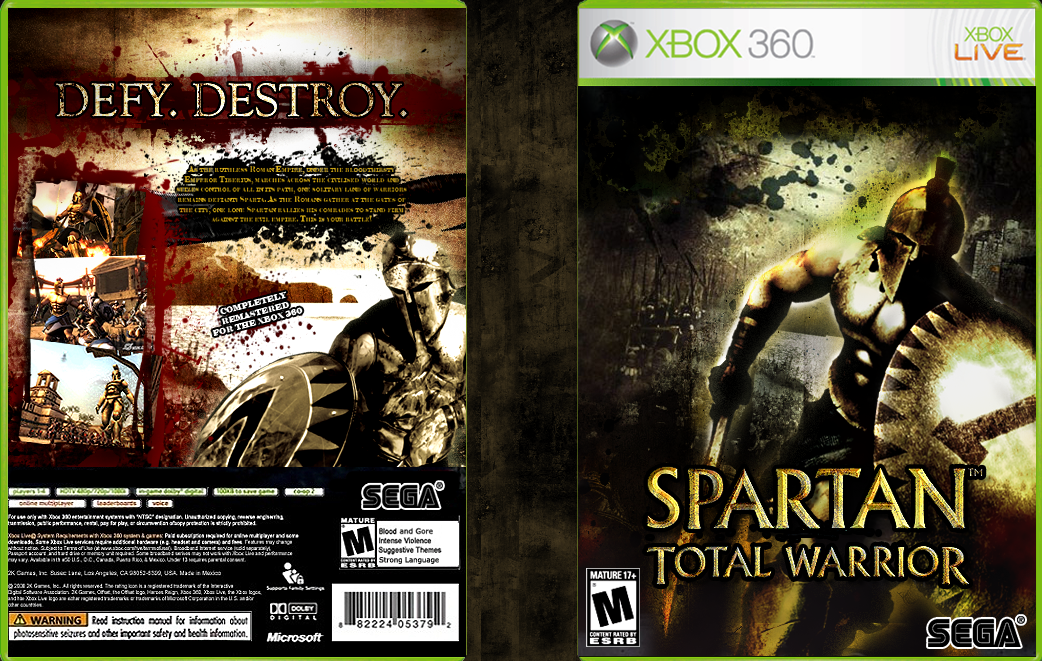Арт к игре Spartan: Total Warrior