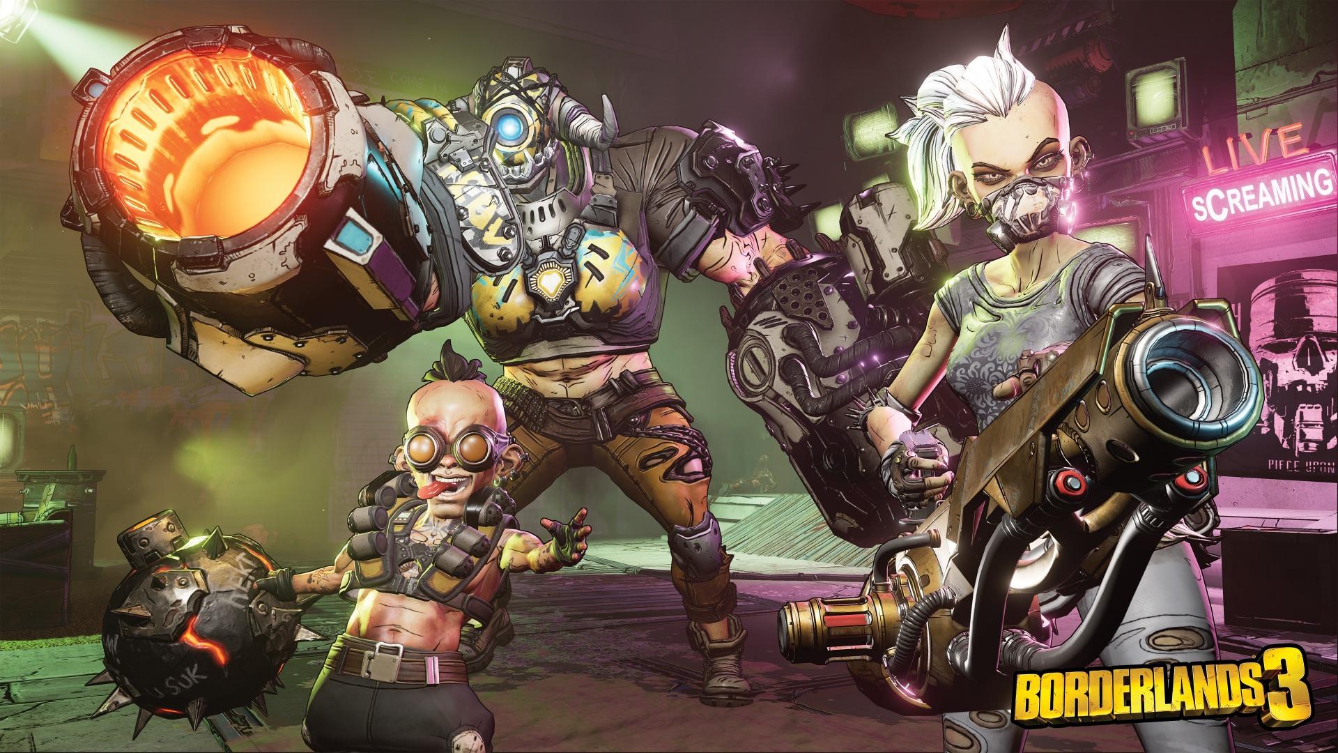 Арт к игре Borderlands 3