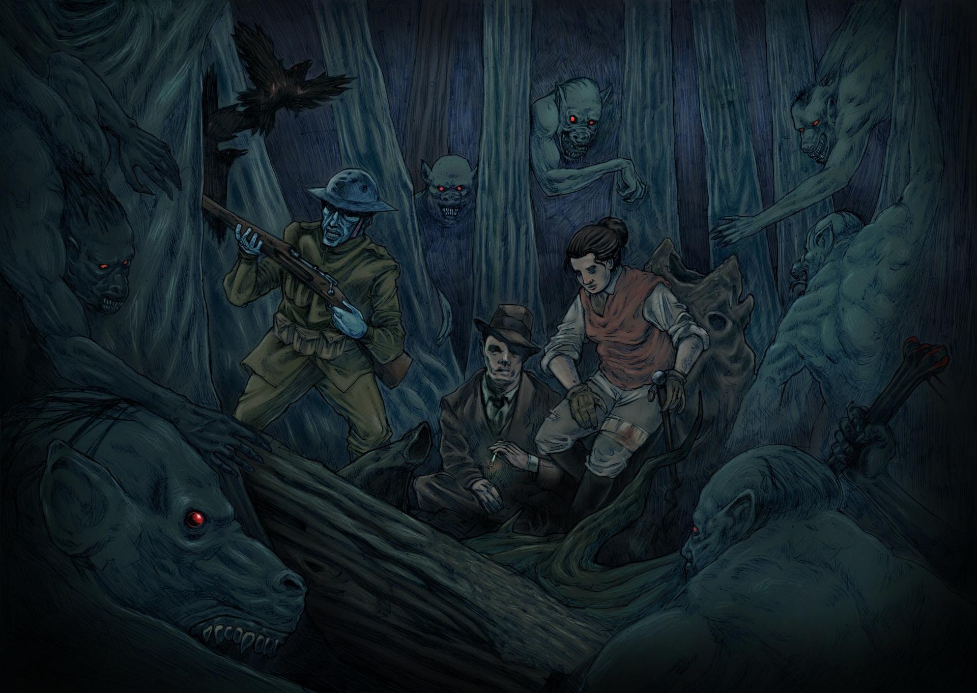 Арт к игре Stygian: Reign of the Old Ones