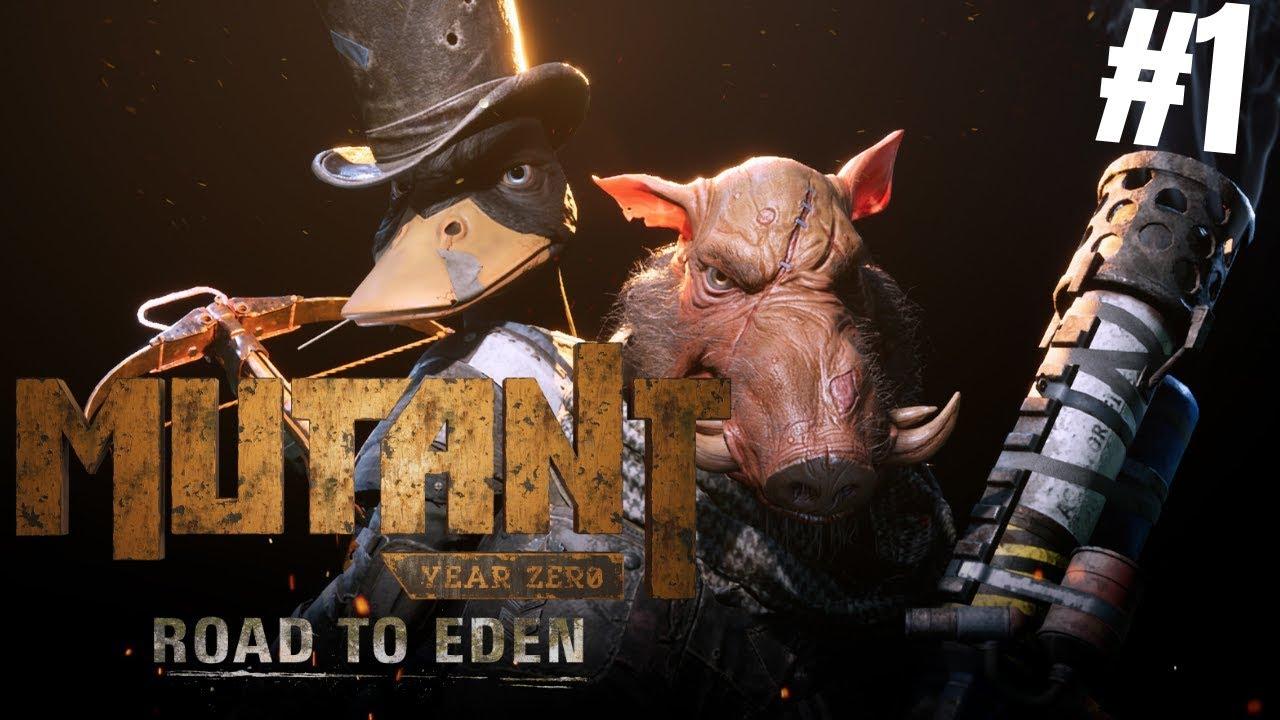 Арт к игре Mutant Year Zero: Road to Eden