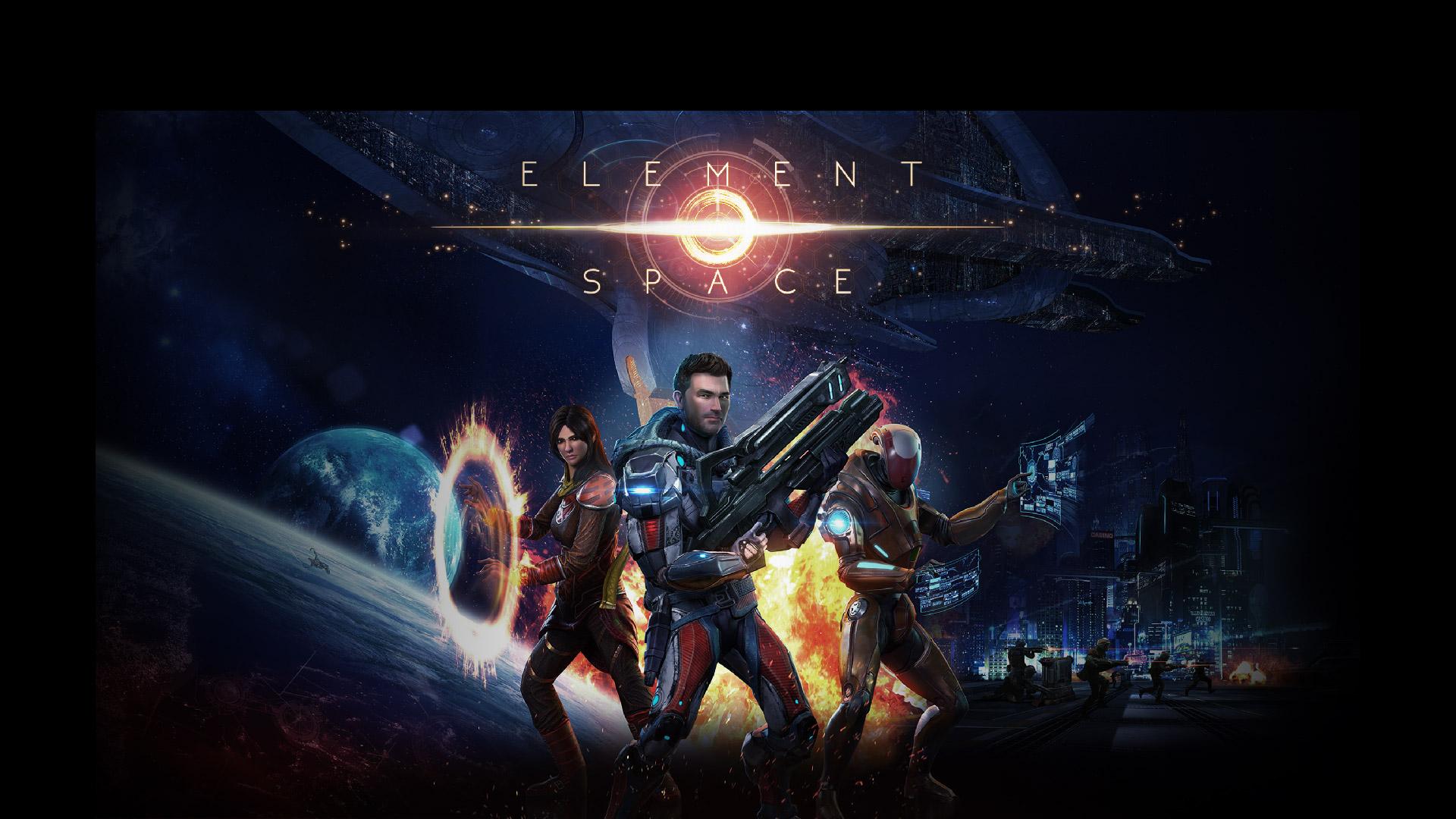 Арт к игре Element: Space
