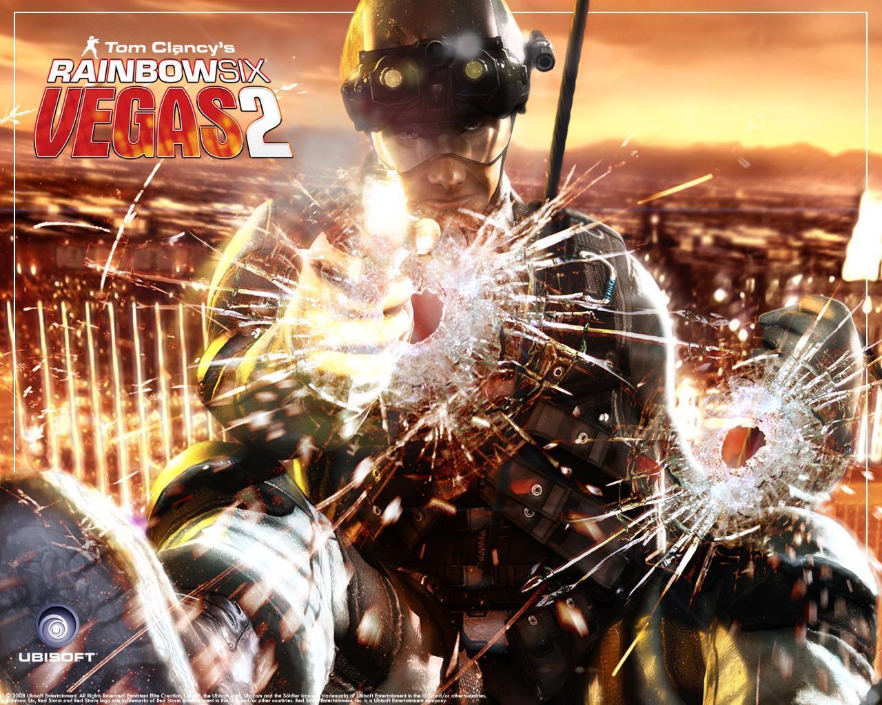 Арт к игре Tom Clancy's Rainbow Six: Vegas