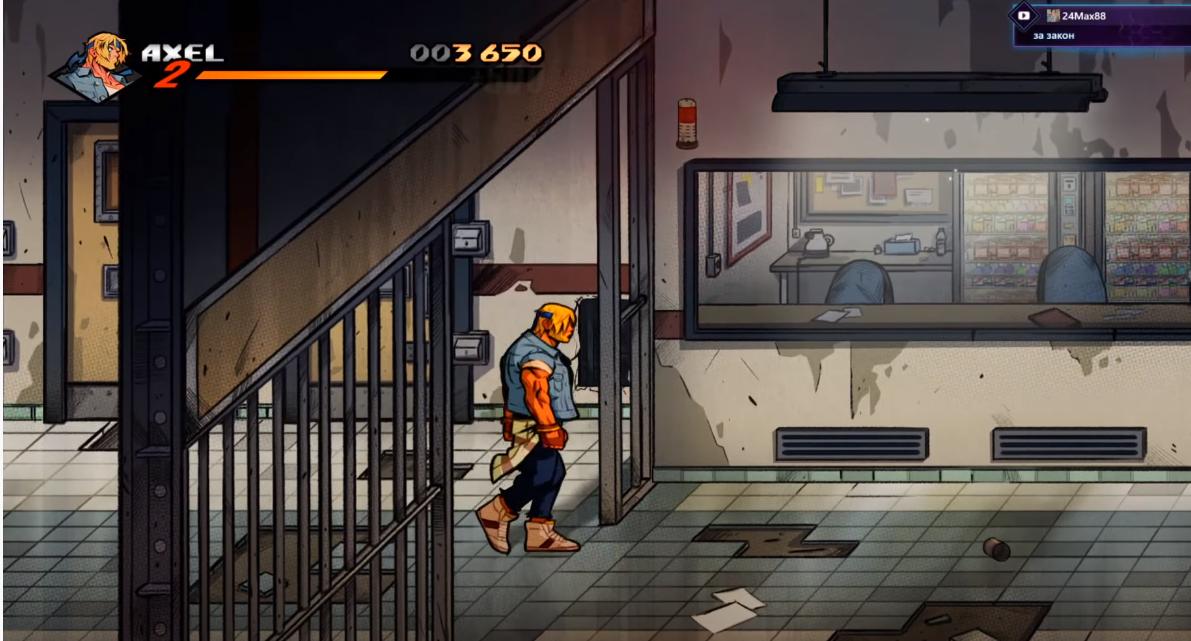 Арт к игре Streets of Rage 4