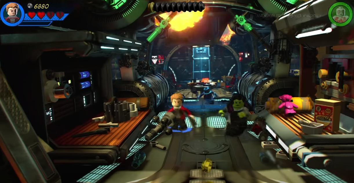 Арт к игре LEGO Marvel Super Heroes 2