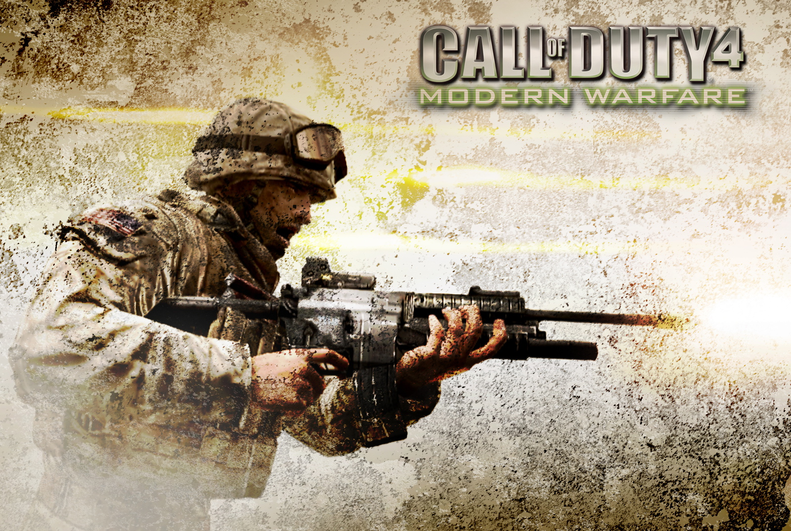 Арт к игре Call of Duty 4: Modern Warfare