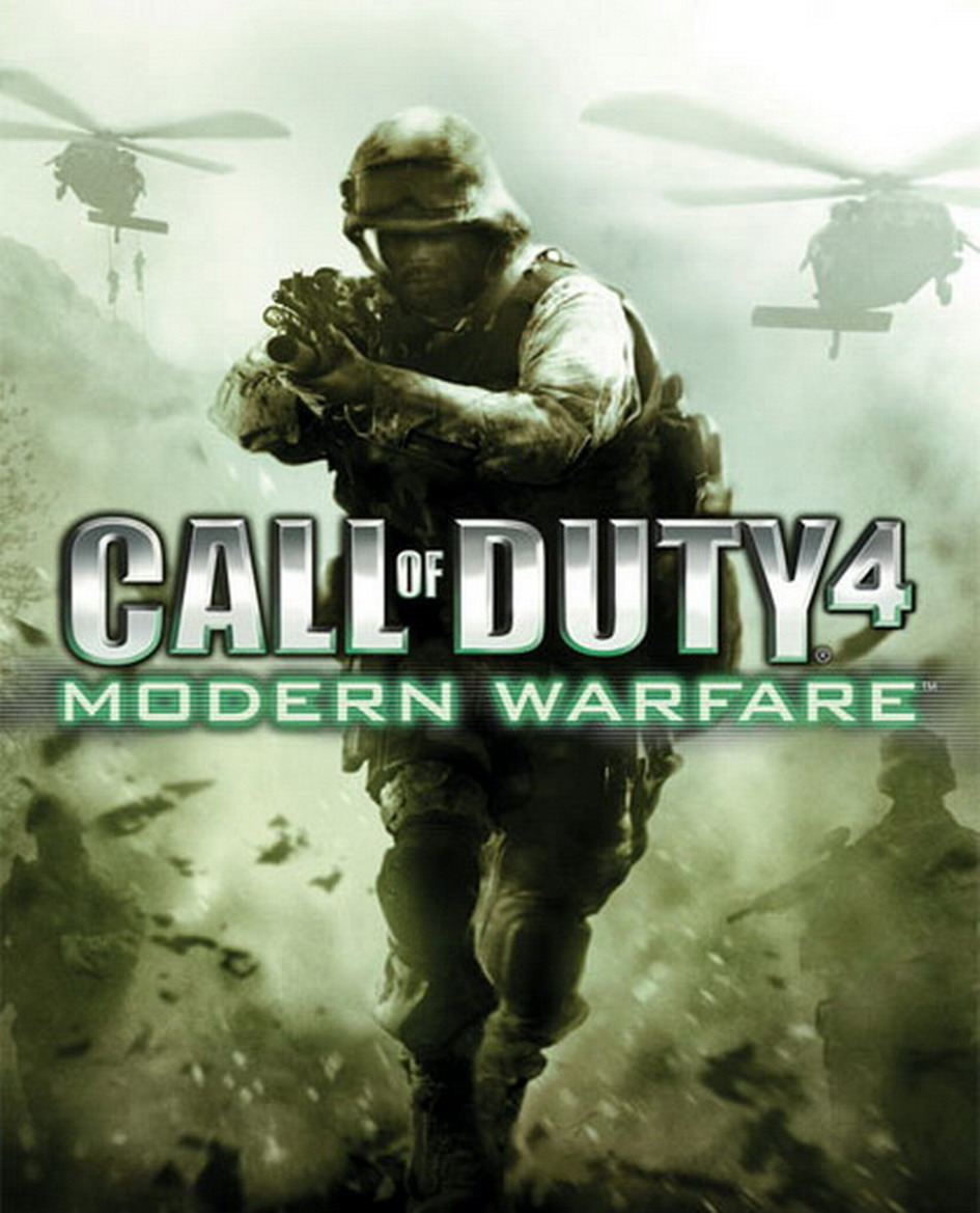 Арт к игре Call of Duty 4: Modern Warfare