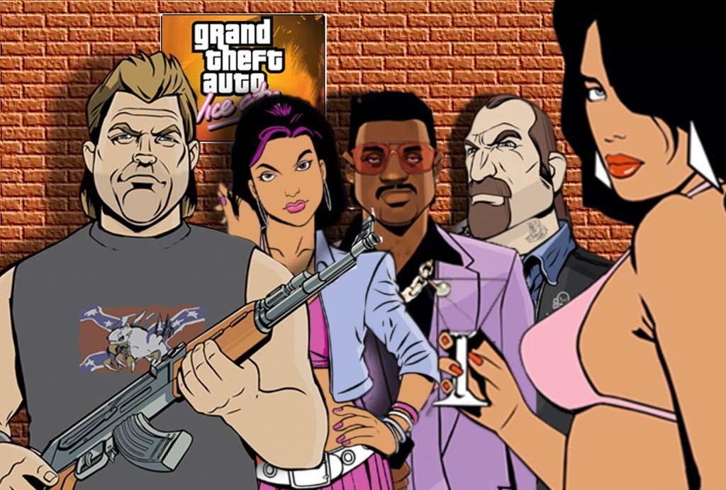 Арт к игре Grand Theft Auto: Vice City