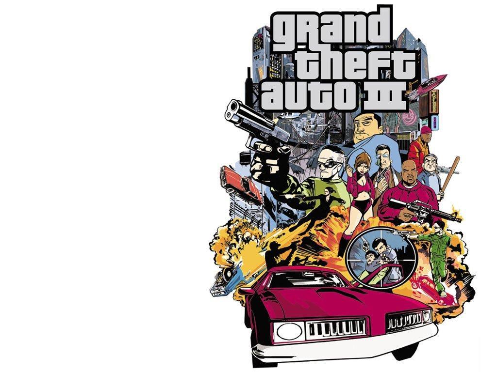 Арт к игре Grand Theft Auto III