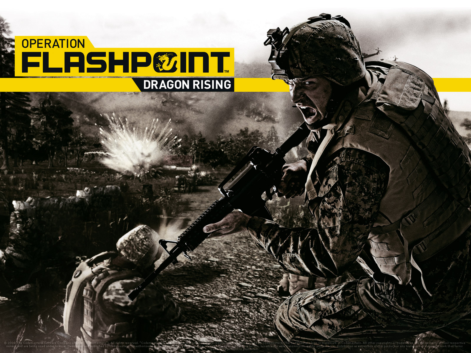 Арт к игре Operation Flashpoint: Dragon Rising