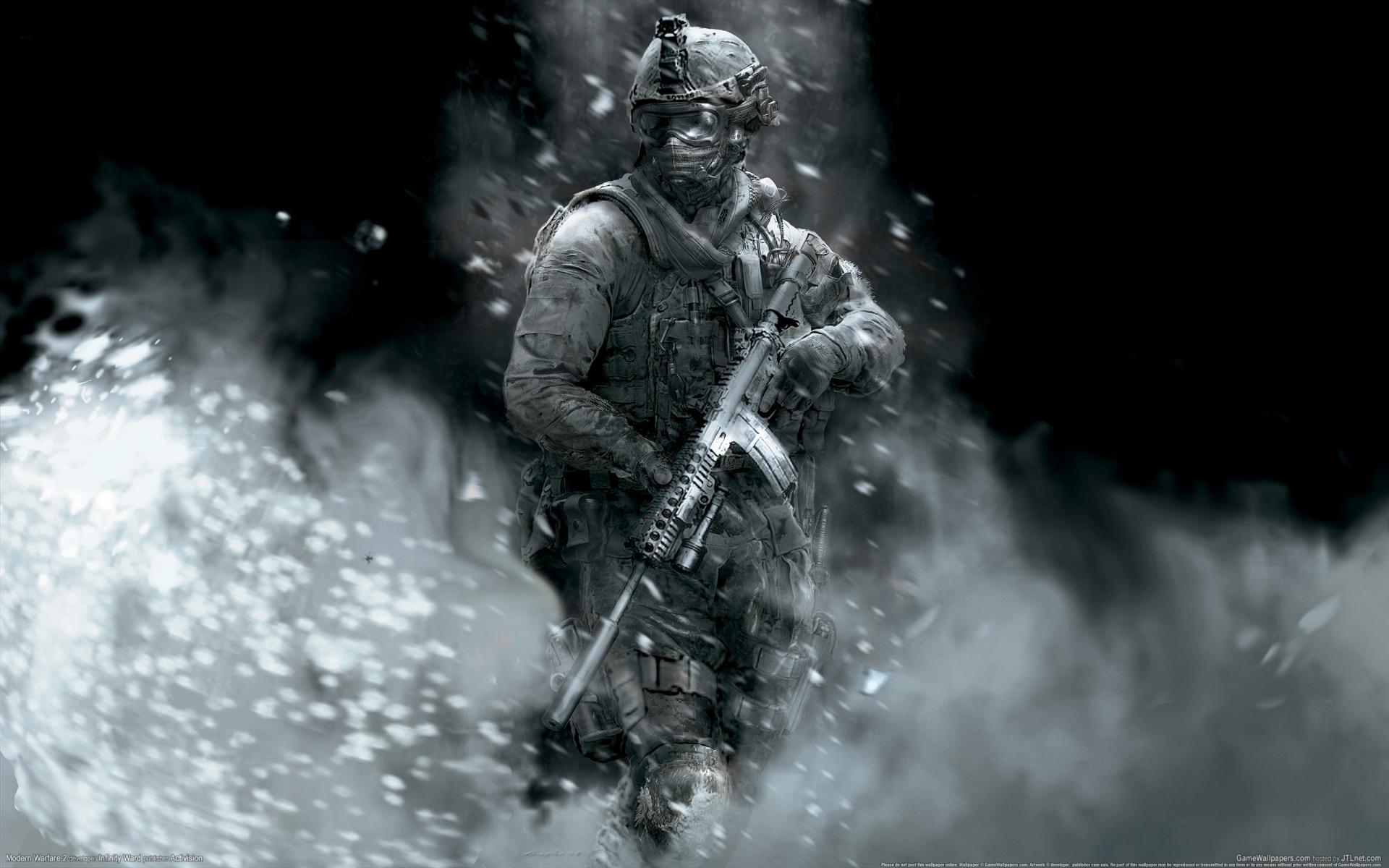 Арт к игре Call of Duty: Modern Warfare 2
